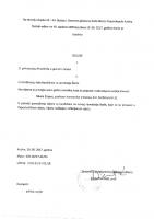 Odluka o prihvaćanju Pravilnika o javnoj nabavi (2)