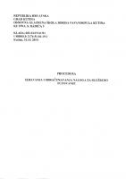 Procedura izdavanja i obračunavanja naloga za službeno putovanje (1)